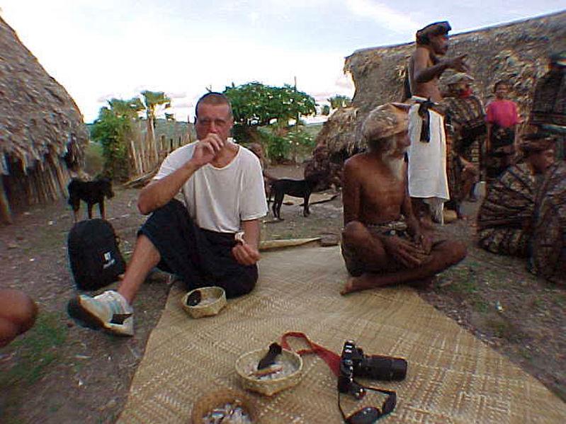 Visit village in Savu